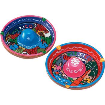 メキシコお土産   ソンブレロ灰皿 1個【172110】