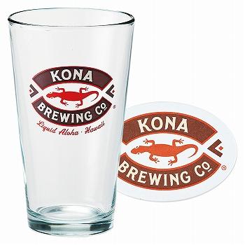 ハワイお土産 | コナビール グラス&コースターセット【173074】