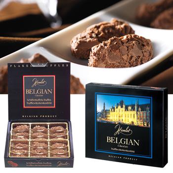 ベルギーお土産|フレークトリュフチョコレート 1箱 【100044】