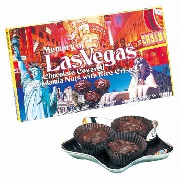 アメリカお土産 | ラスベガス クランチチョコレート 1箱 【105411】