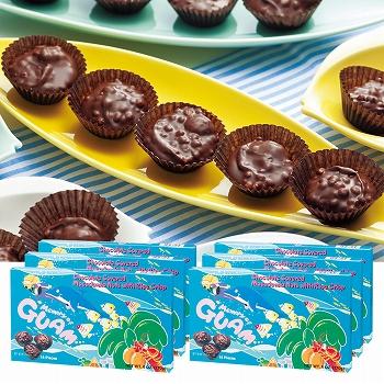 グアムお土産   グアム クランチチョコレート 6箱セット【184008】