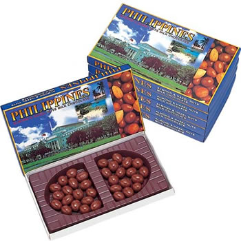 [賞味6/19]フィリピンお土産 | フィリピン ナッツチョコレート 6箱セット【186117】