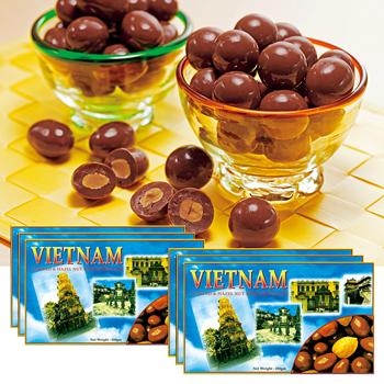 ベトナムお土産 | ベトナム ナッツチョコレート 6箱セット【186031】