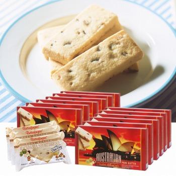 オーストラリアお土産 | マカデミアナッツ&チョコチップショートブレッド 12箱セット【175006】