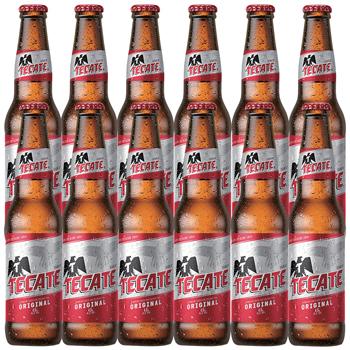メキシコお土産 | テカテビール 12本セット【R82026】