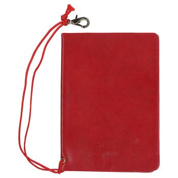 [旅行用品] パスポートカバー レッド 【T04501】(パスポートケース セーフティグッズ トラベルグッズ)