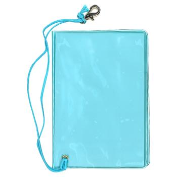 旅行用品 | パスポートホルダー ブルー 【105429】(パスポートカバー パスポートケース トラベルグッズ)