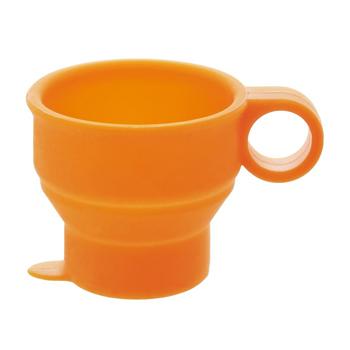 旅行用品 | たためるミニコップ オレンジ【T46252】