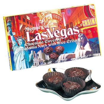 アメリカお土産 | ラスベガス クランチチョコレート 6箱セット【172041】