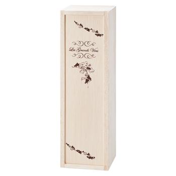 フランスお土産   ボルドータイプ用ワイン木箱【181080】