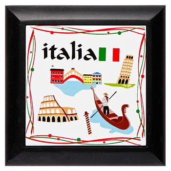 イタリアお土産 | イタリア鍋敷き 【161104】