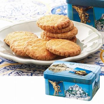 [フランスお土産] ラ・トリニテーヌクッキー ミニ缶 【151019】 ★★★