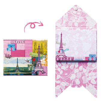 フランスお土産   パリ エッフェル塔 封筒型ふせんブック 1冊【171093】