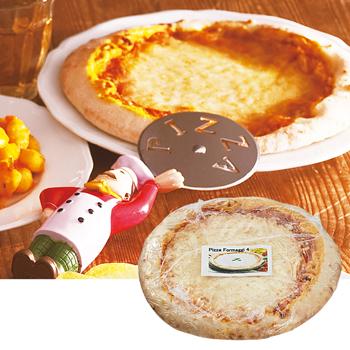 イタリアお土産 | イタリアハンドメイドピザ 6枚セット 【F61009】