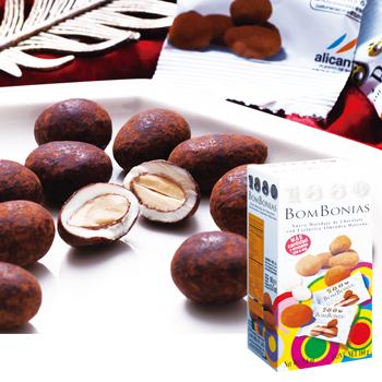 [スペインお土産] スペイン ココアキャラメル アーモンドチョコレート 4箱セット 【151194】 ★★★