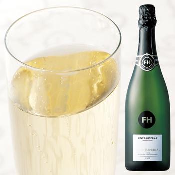 スペインお土産 | フィンカ イスパーニャ カヴァブリュット インペリアル スパークリングワイン【R71064】