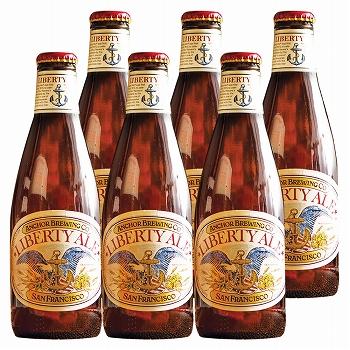 アメリカ・ハワイ・グアムお土産 | アンカーリバティーエール 6本セット ビール【R82001】