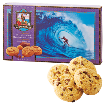 ハワイお土産 | ハワイノースショア マカデミアナッツチョコチップクッキー【173045】