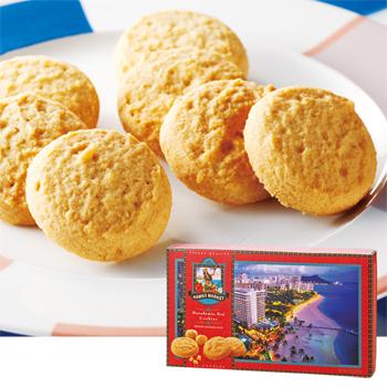 ハワイお土産 | ハワイワイキキビーチ マカデミアナッツクッキー【173044】