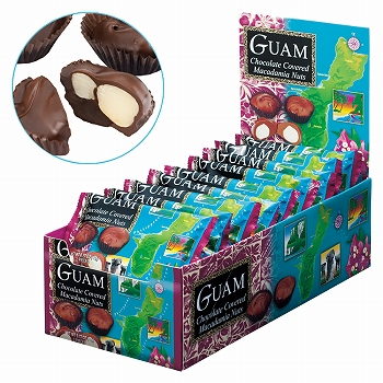 グアムお土産   グアム マカデミアナッツチョコレート ミニパック 1箱18袋入り【184006】