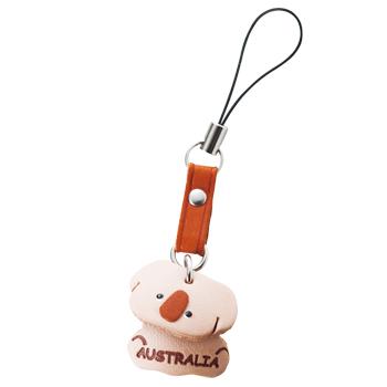 オーストラリアお土産 | ハンドメイドコアラストラップ 【175032】