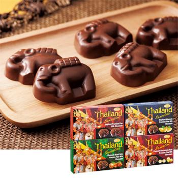 タイお土産 | エレファントチョコレート 4種セット【176006】