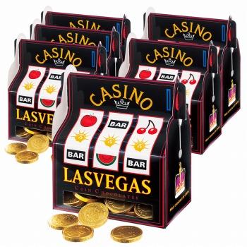 アメリカお土産 | ラスベガス カジノスロットチョコレート 6箱セット【182038】
