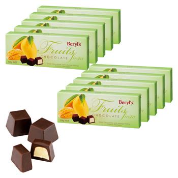 マレーシアお土産   マンゴー チョコレート 10箱セット【176088】