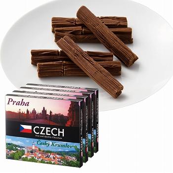 チェコお土産 | チェコ プリエチョコレート 4箱セット【181242】