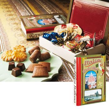 イタリアお土産 | スイーツブック イタリア 1箱 【161068】