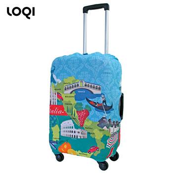 【在庫限り販売終了】旅行用品 | ローキー スーツケースカバー イタリア【105521】