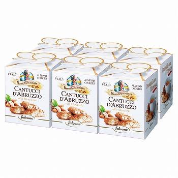 イタリアお土産 | ファルコーネ カントチーニ アーモンドボックス 6箱セット 【161094】