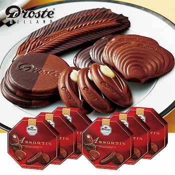 オランダお土産 | ドロステ アソートチョコレート 6箱セット【171199】