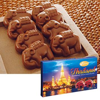 タイお土産 | エレファントチョコレート 1箱【176002】