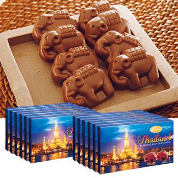 タイお土産 | エレファントチョコレート 12箱【176004】