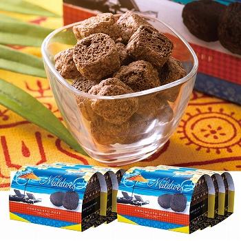 モルディブお土産 | モルディブ チョコレートパフ 6箱セット【174042】