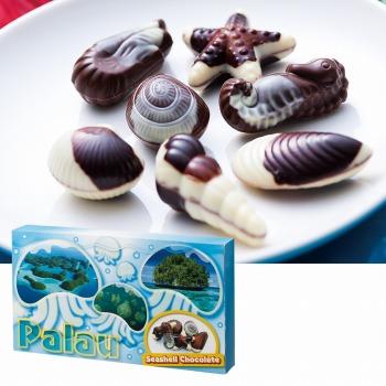 パラオお土産 | パラオ シーシェルチョコレート ドルフィン紙袋付き 1箱【174063】