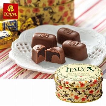 イタリアお土産|イカム チョコレート ミニ缶 6缶セット 【161073】