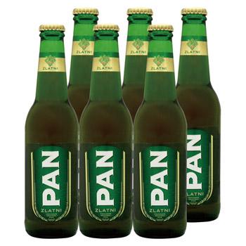 クロアチアお土産 | クロアチアビール ゴールデンパン 6本セット【R81083】