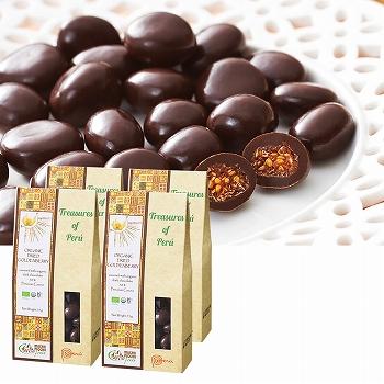 ペルー ゴールデンベリーチョコレート 4箱セット