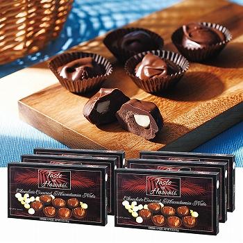 ハワイお土産 | テイストオブハワイ マカデミアナッツチョコレート 6箱セット【173041】