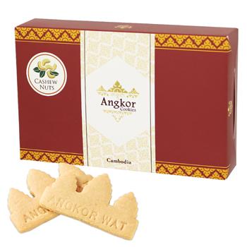 カンボジア土産 | アンコールワットクッキー(アンコールクッキー) 1箱 【105415】