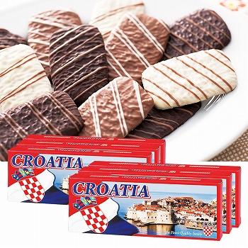 クロアチアお土産 | クロアチア チョコレートクッキー 6箱セット【181255】