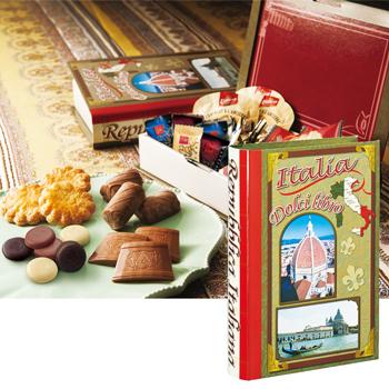イタリアお土産|スイーツブック イタリア 1箱【161332】