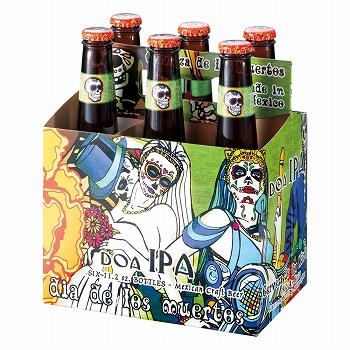 メキシコお土産 | デイ・オブ・ザ・デッド IPA ビール6本セット【R06106】