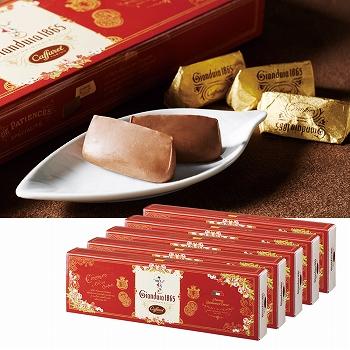 イタリアお土産 | カファレル Caffarel ジャンドゥーヤチョコレート 5箱セット【171002】