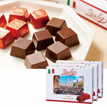 イタリアお土産|イタリア コーヒープラリネチョコレート 3箱セット【161511】