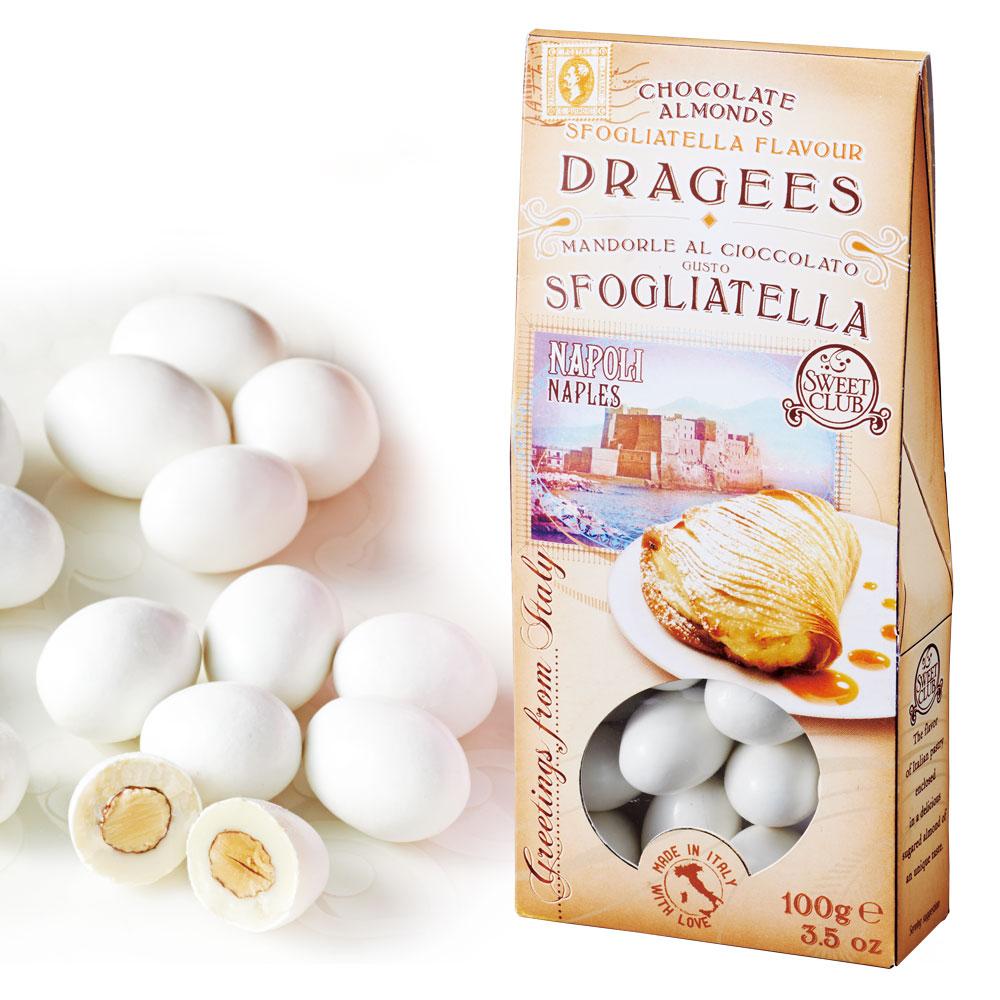 [賞味18.1/25]イタリアお土産   イタリアン チョコレートドラジェ スフォリアテッラ風味 【105734】