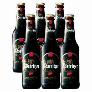 ドイツお土産 | ケストリッツアー・シュバルツビア 黒ビール 6本セット【R81036】