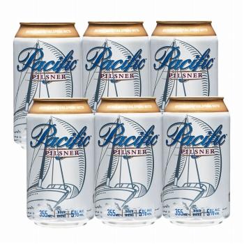 カナダお土産 | カナダ パシフィック ピルスナービール 6缶セット クーラーバッグ付【R72020】